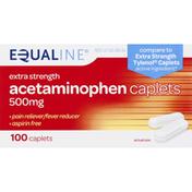 Equaline Acetaminophen, Extra Strength, 500 mg, Caplets