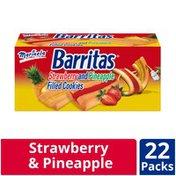 Marinela Barritas Strawberry And Pineapple Filled Cookies