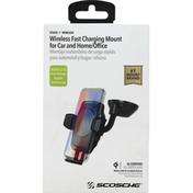 Scosche Charging Mount, Wireless, Stuckup
