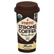Forto Energy Drink, Strong Coffee, Mocha