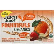 Juicy Juice Juice, Organics, Orange Strawbana Blast