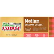 Cabot Cheese, Medium Cheddar
