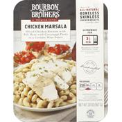 Bourbon Brothers Chicken Marsala