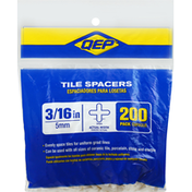 Qep Tile Spacers, 3/16 Inch, 200 Pack