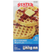 Stater Bros Blueberry Waffles