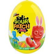 Sour Patch Kids Soft & Chewy Candy Filled Egg