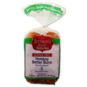 Jensen's Gluten-Free Hotdog Buns