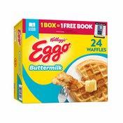 Eggo Frozen Waffles, Frozen Breakfast, Toaster Waffles, Buttermilk