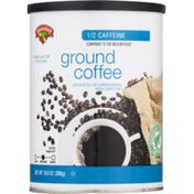 Hannaford Ground Coffee 1/2 Caffeine