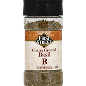 First Street Basil, Ground, Coarse