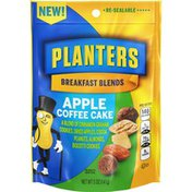 Planters Breakfast Blends Apple Coffee Cake Trail Mix Snack with Cinnamon Graham Cookies, Apples, Cocoa Peanuts, Almonds & Biscotti Cookies