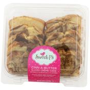 Sweet P's Cinn-A-Butter Sliced Creme Cake