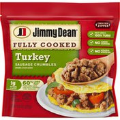 Jimmy Dean Fully Cooked Breakfast Turkey Sausage Crumbles