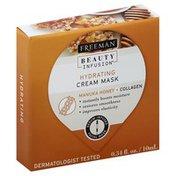 Freeman Cream Mask, Hydrating, Manuka Honey + Collagen
