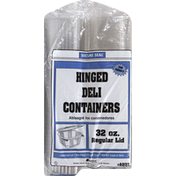 Genpak 32oz Hinged Deli Containers