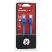 GE Network Cable, Cat 6, 7 Feet