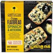 California Pizza Kitchen Crispy Flatbread Spinach & Artichoke