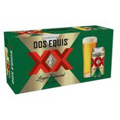 Dos Equis Mexican Lager Beer