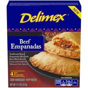 Delimex Beef Empanadas, Frozen Appetizer
