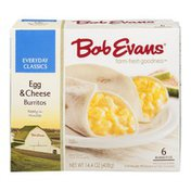 Bob Evans Everyday Classics Burritos Egg & Cheese - 6 CT