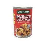 Bon Italia Spaghetti & Meatballs In Tomato Sauce