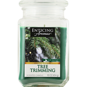 Enticing Aromas Candle, Scented, Tree Trimming