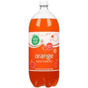 Food Club Orange Caffeine Free Soda