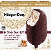 Haagen-Dazs Coconut Caramel Dark Chocolate Non Dairy Frozen Dessert Bars