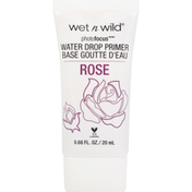 wet n wild Primer, Water Drop, What's Up Rose-Bud? 590A