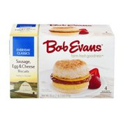 Bob Evans Sausage Egg & Cheese Biscuits - 4 CT