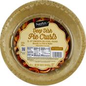 Signature Select Pie Crusts, Deep Dish