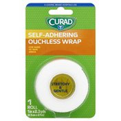 CURAD Ouchless Wrap, Self-Adhering, Stretchy & Gentle