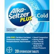 Alka-Seltzer Plus Cold, Sparkling Original