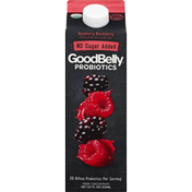 GoodBelly Juice Drink, No Sugar Added, from Concentrate, Probiotics, Raspberry Blackberry