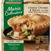 Marie Callender's Cheesy Chicken And Bacon Pot Pie DRC