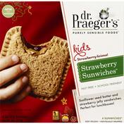 Dr. Praeger's Strawberry Sunwiches