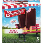 Friendly's Black Cherry Ice Cream Bars