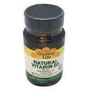 Country Life Vitamin D3 400units