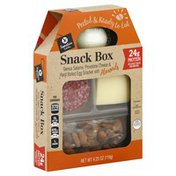 Signature Cafe Genoa Salame, Provolone Cheese & Hard Boiled Egg Snacker With Almonds Snack Box