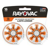 Rayovac Size 13 Batteries, Size 13 Batteries