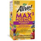 Nature's Way Alive!® Max3 Potency Women's Multivitamin