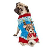 Holiday Extra Small Reindeer Pet Sweater