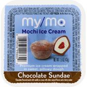 My/Mo Mochi Ice Cream, Chocolate Sundae
