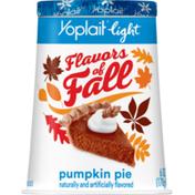 Yoplait Light Fat Free Pumpkin Pie Yogurt