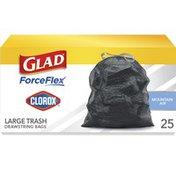 Glad Trash Bags, Drawstring, Large, Mountain Air