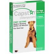 Capstar For Treatment of Flea Infestations on Dogs Fast Acting Oral Tablets
