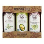 La Tourangelle Artisan Oils Best Seller Trio Walnut Avocado Hazelnut