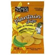 Samai Plantain Chips, Naturally Sweet