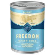 Blue Buffalo Freedom Grain Free Natural Puppy Wet Dog Food, Chicken