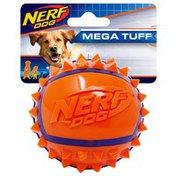 """NERF DOG 3.5"""" Two Tone TPR Spike Ball"""
